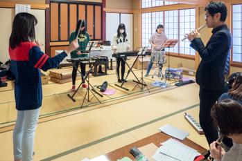 鼓笛隊練習|平成31年(2019年)2月3日